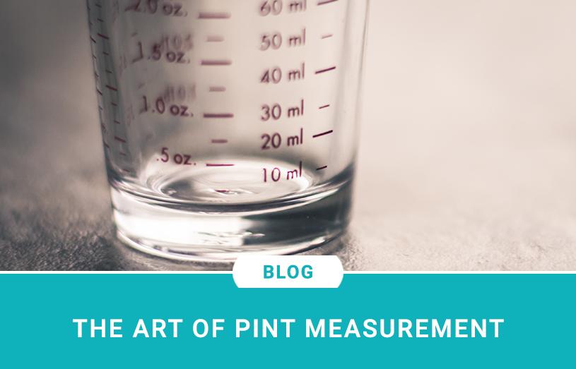 The Art of Pint Measurement