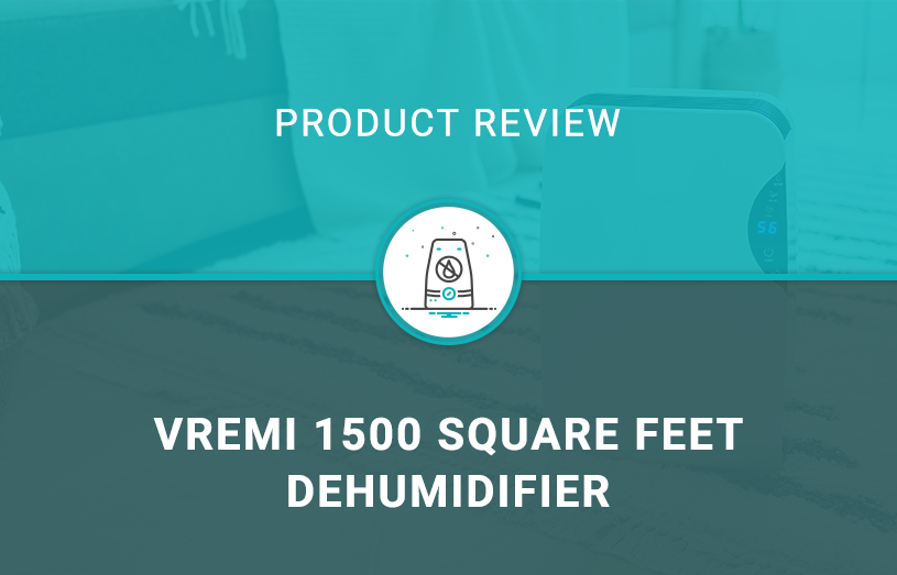 Vremi 1500 Square Feet Dehumidifier