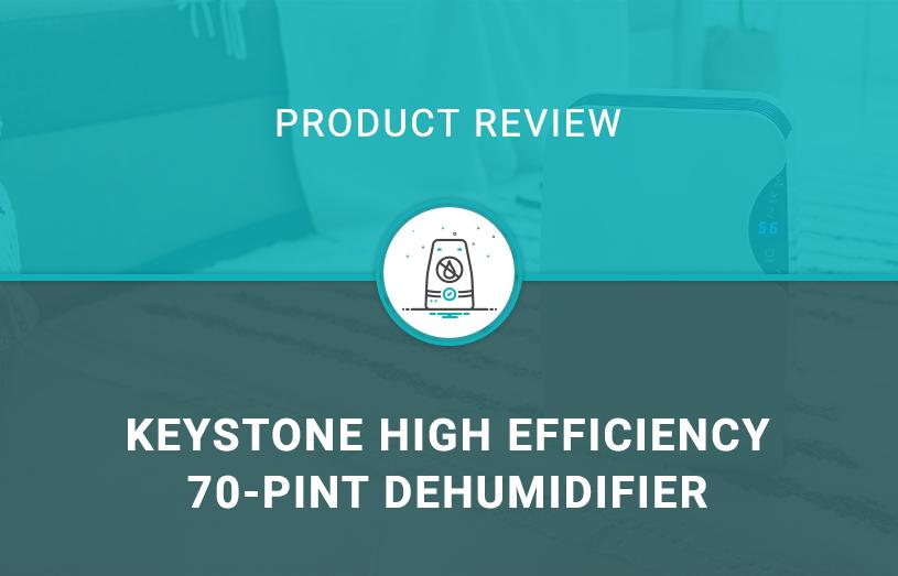 Keystone High Efficiency 70-Pint Dehumidifier